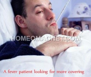 Fever Patient wants more covering