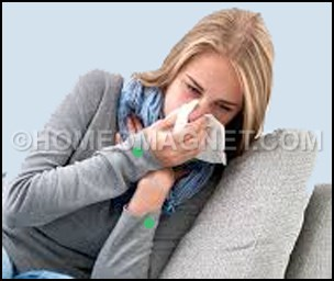 A patient of common cold